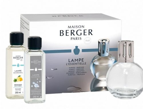 Lampe Berger Essentielle – Zitronen-Verbene & AIR PUR Neutral